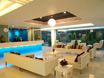 iCheck inn Mayfair Pratunam Lounge/Empfang