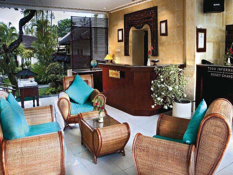 Respati Sanur Beach Lounge/Empfang