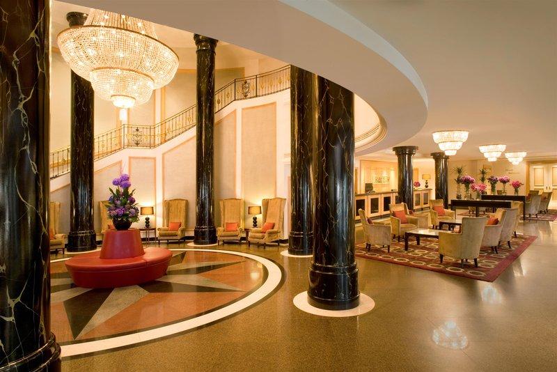 Sheraton Warschau Lounge/Empfang