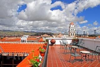 Parador Santa Maria la Real Terrasse
