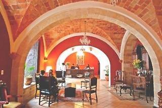Parador Santa Maria la Real Lounge/Empfang