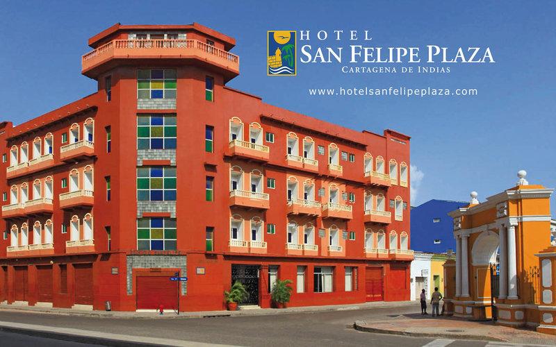 Hotel San Felipe Plaza Außenaufnahme