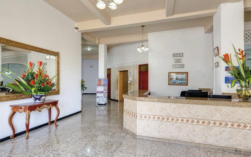 Hotel San Felipe Plaza Lounge/Empfang