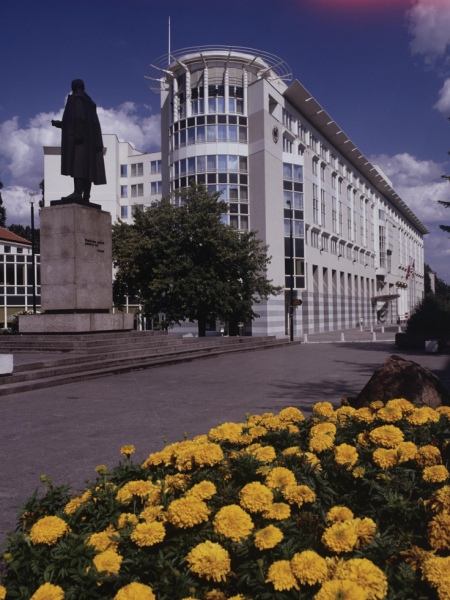 Sheraton Warschau Außenaufnahme