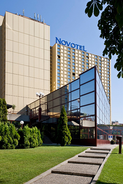 Novotel Budapest City Außenaufnahme