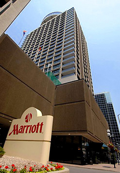 Ottawa Marriott Hotel Außenaufnahme