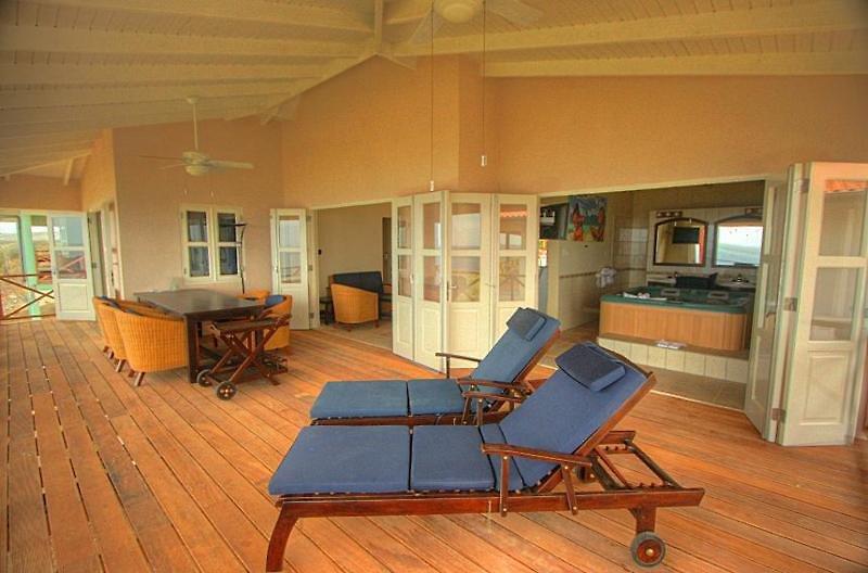 Caribbean Club Bonaire Terrasse