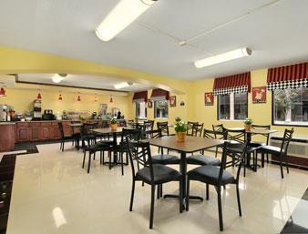 Days Inn Houston Frühstücksraum