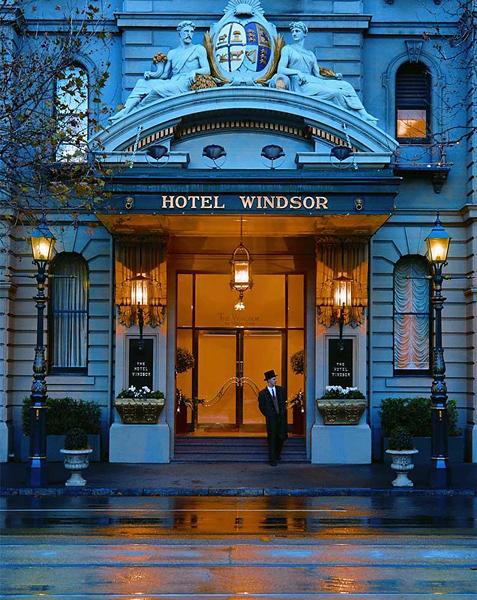 The Hotel Windsor Außenaufnahme