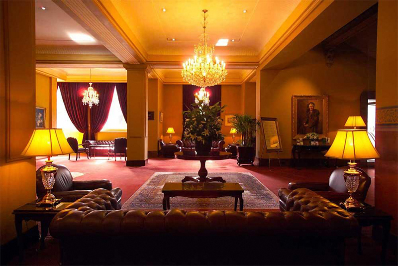 The Hotel Windsor Lounge/Empfang