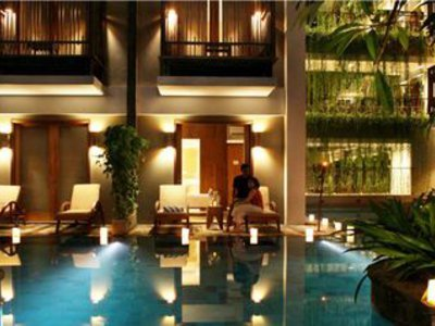 The Oasis Sanur Lagoon Lounge/Empfang