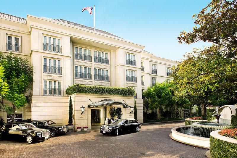 The Peninsula Beverly Hills Außenaufnahme
