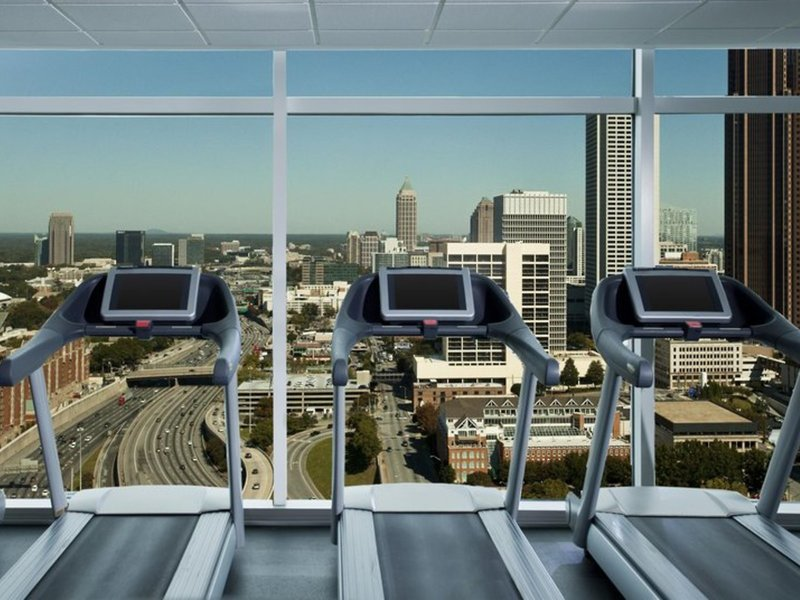 The W Atlanta Downtown Terrasse