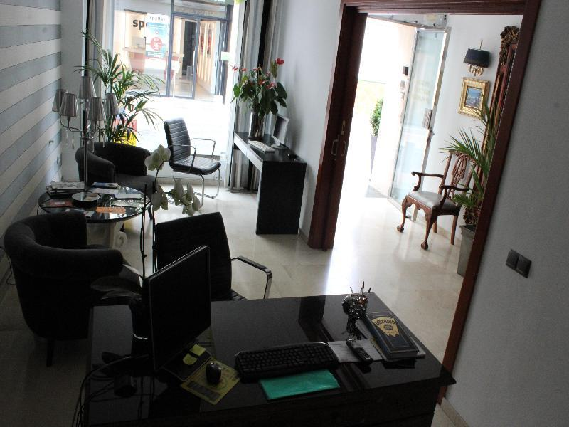 Abril Hostal Lounge/Empfang