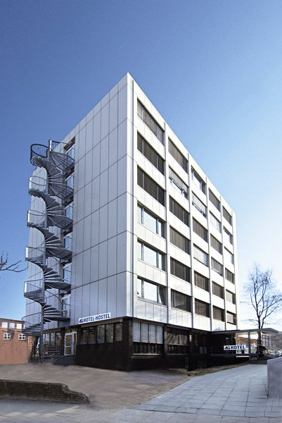 A & O City Hotel Hamburg Hammer KircheAuߟenaufnahme
