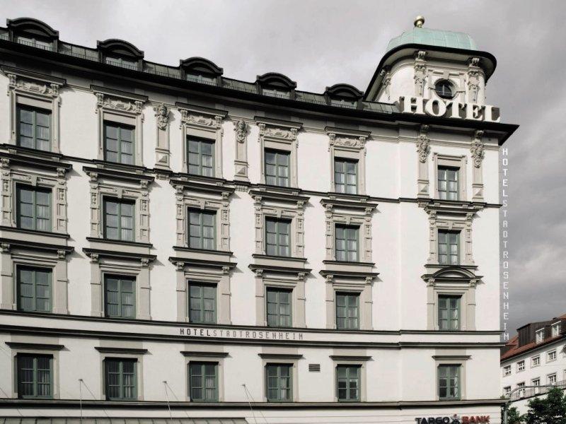 Design Hotel Stadt RosenheimAuߟenaufnahme