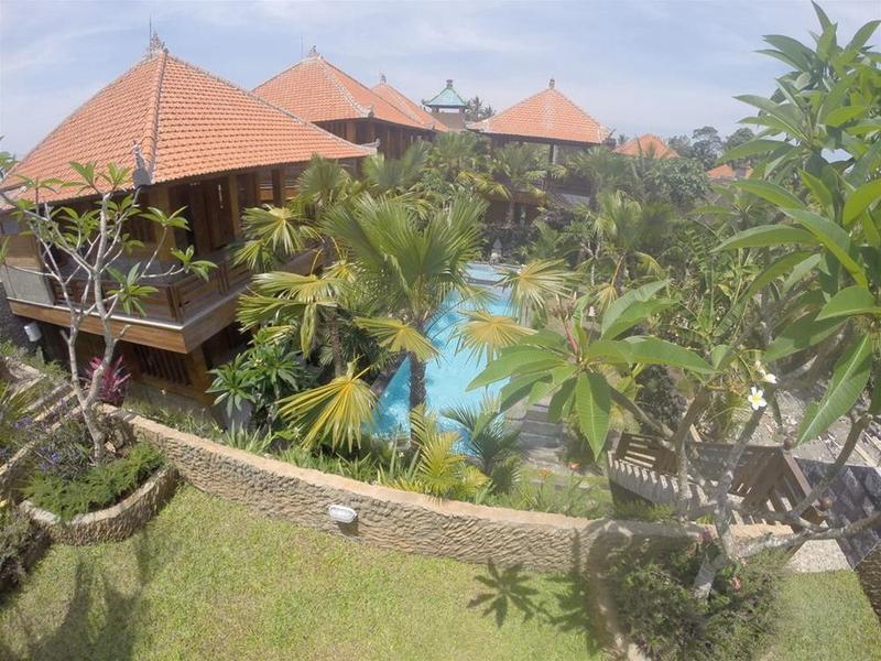 Budhi Ayu Villas Ubud Garten