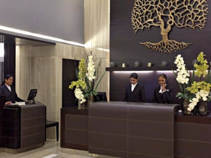 Country Inn & Suites By Carlson - Gurgaon, Sector 29 Lounge/Empfang