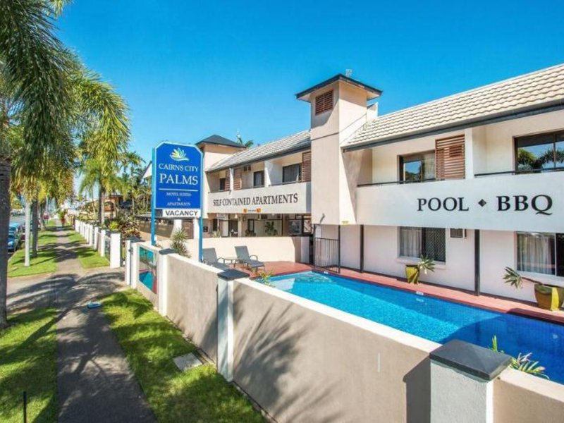 Cairns City Palms Außenaufnahme