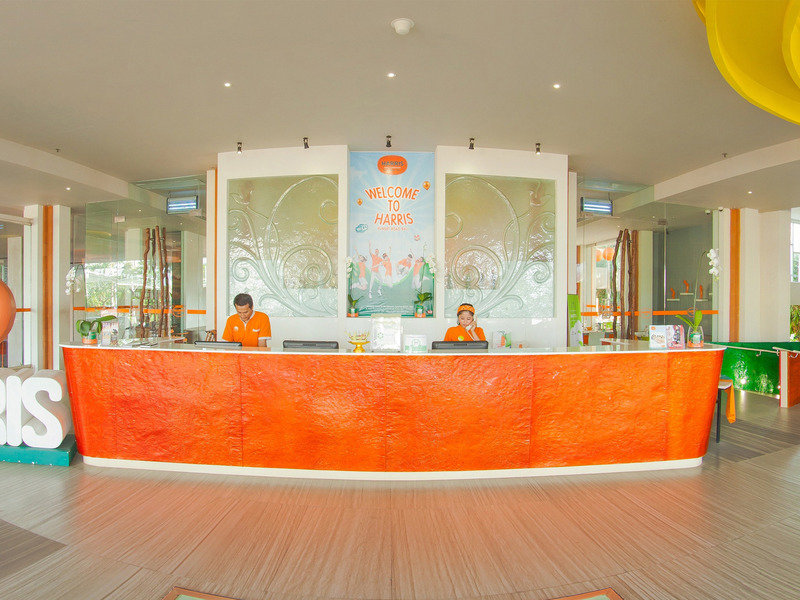 HARRIS Hotel & Residences Sunset Road Lounge/Empfang