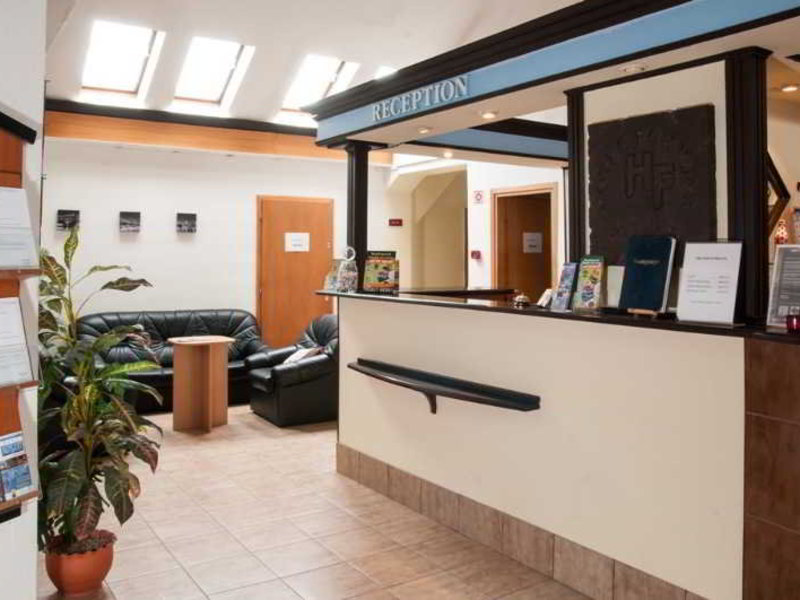 Hotel Fortuna Budapest Lounge/Empfang