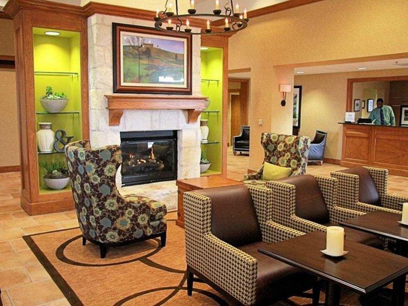 Hampton Inn & Suites Austin-Airport Lounge/Empfang
