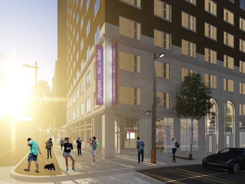 Hampton Inn & Suites Dallas Downtown Außenaufnahme