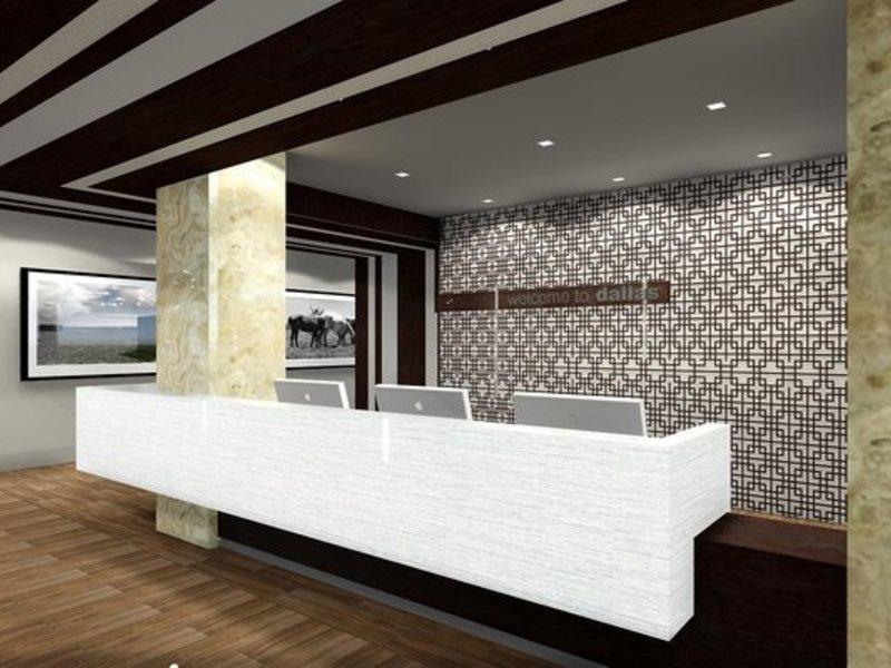 Hampton Inn & Suites Dallas Downtown Lounge/Empfang