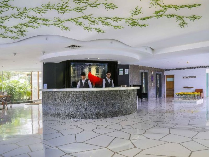 Waterstones Hotel Lounge/Empfang