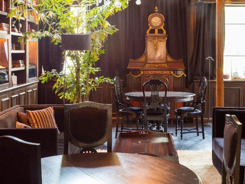 Hotel Factoria Lounge/Empfang