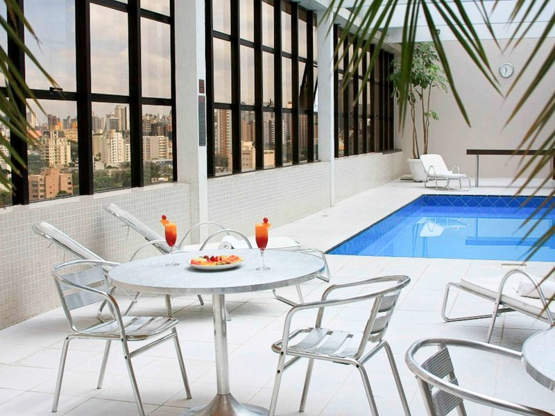 Mercure Curitiba Golden Hotel Hallenbad