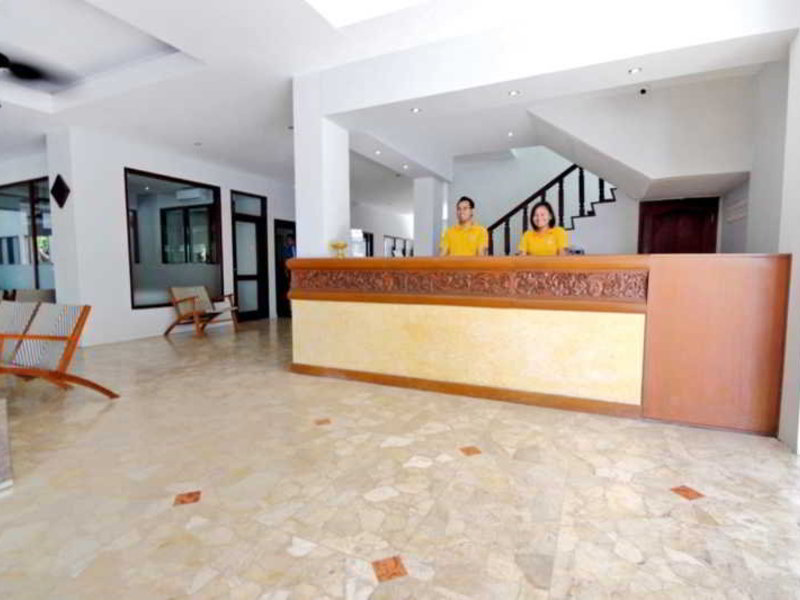 Maharani Beach Hotel Lounge/Empfang