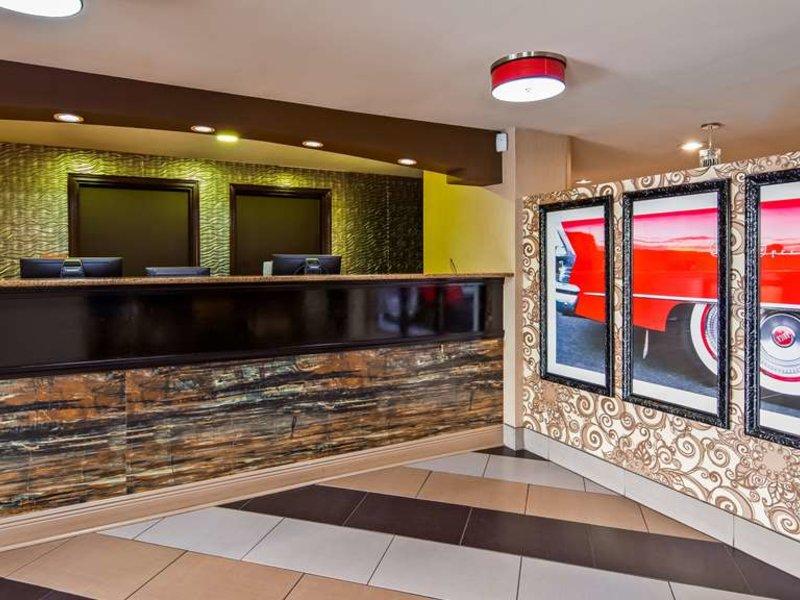 Best Western Plus Jackson Downtown-Coliseum Lounge/Empfang