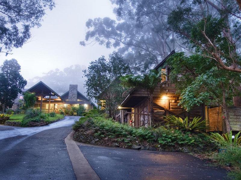 Binna Burra Lodge Außenaufnahme