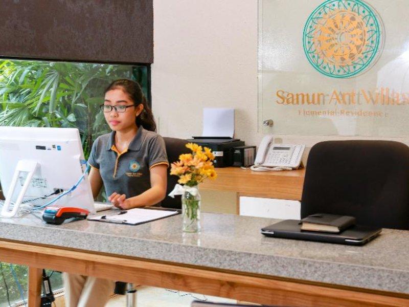 Sanur Art Villas Lounge/Empfang