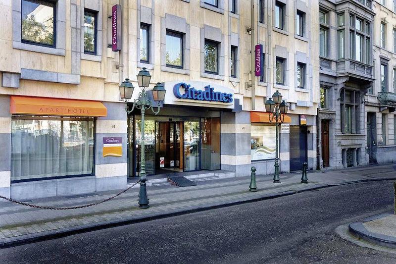 Citadines Apart´ Bruxelles Toison d´Or Außenaufnahme