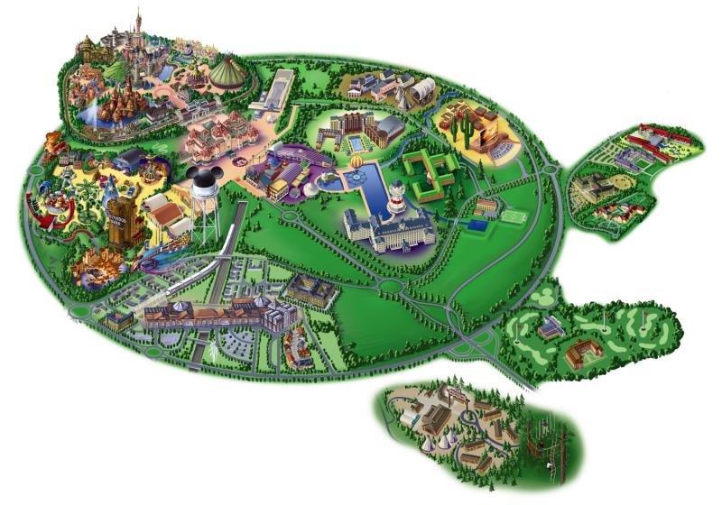 Radisson Blu DisneylandModellaufnahme