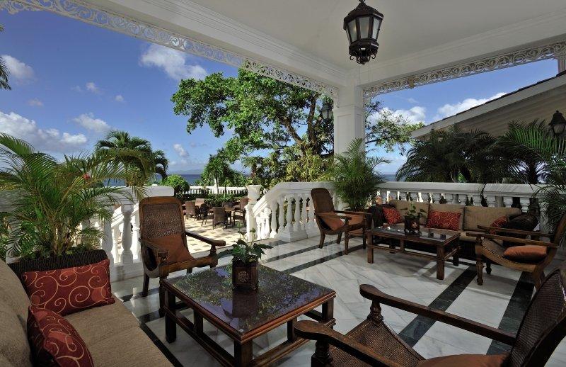 Luxury Bahia Principe Cayo Levantado - Erwachsenenhotel ab 18 JTerasse