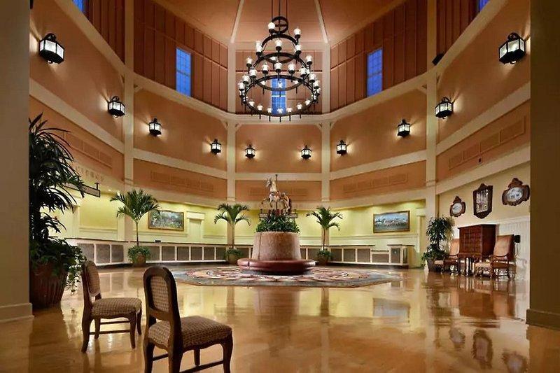 Disney´s Saratoga Springs Resort & Spa Lounge/Empfang