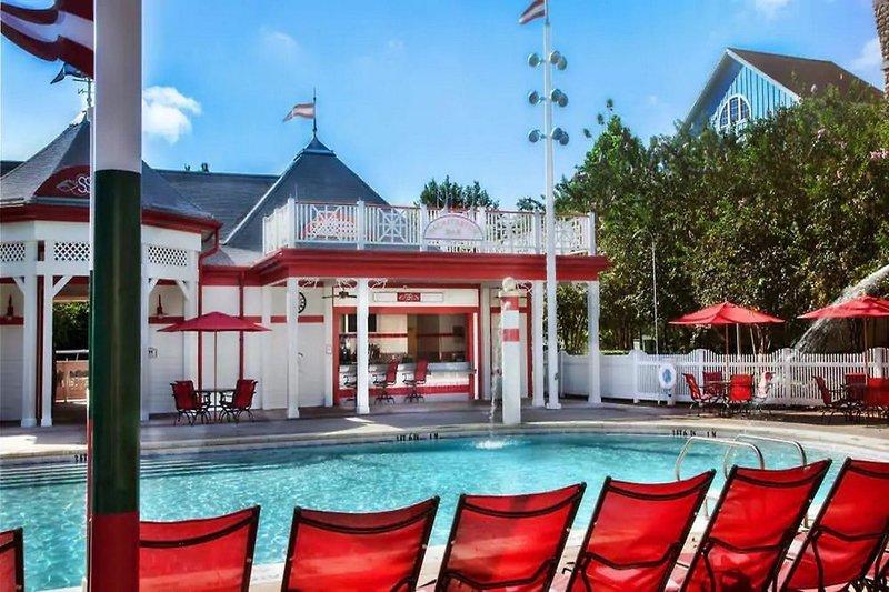 Disney´s Saratoga Springs Resort & Spa Terrasse