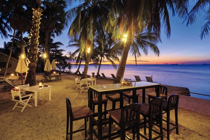 Paradise Beach ResortTerasse