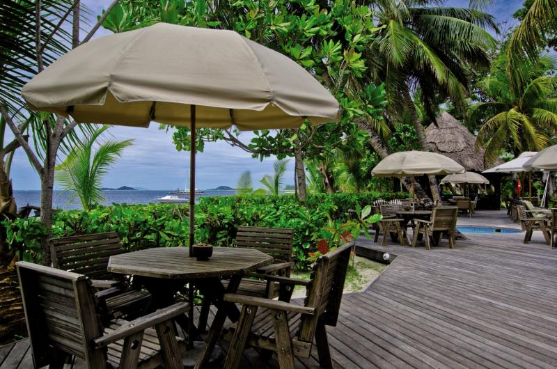 Indian Ocean LodgeTerasse