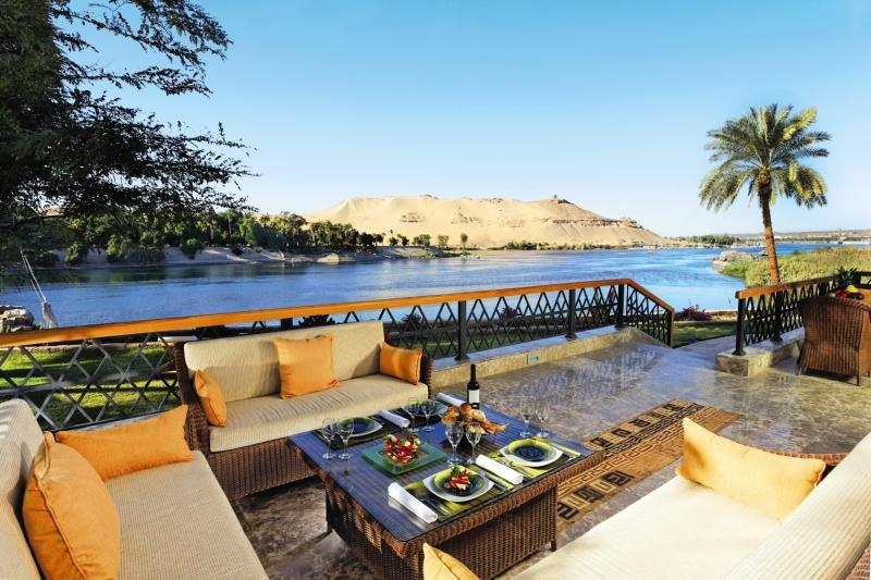 Mövenpick Resort AswanTerasse