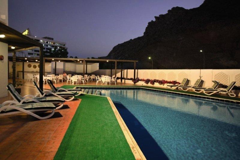 Haffa House Muscat Pool