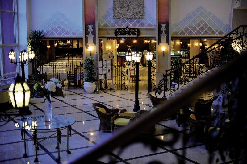 Amwaj Oyoun Resort & Spa Lounge/Empfang