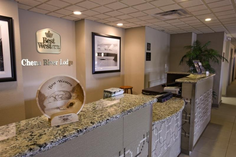 Best Western Plus Chena River Lodge Lounge/Empfang