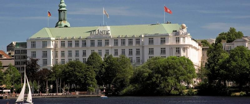 Kempinski Atlantic Hamburg Außenaufnahme