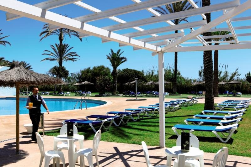 Hotel Playas de Guardamar Terrasse