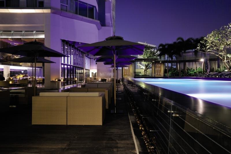 Anantara Sathorn Bangkok Hotel Terrasse