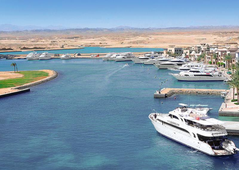 Marina Lodge at Port Ghalib Strand